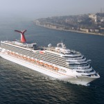 Carnival Freedom arrives in Istanbul, Turkey