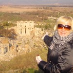 My wife Heidi in Ephesus