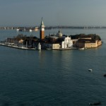 Panoramic Shot of the Carnival Freedom in Venice