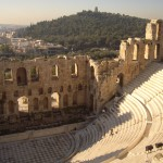 The magnificent theatre of Athens