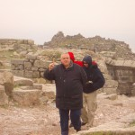 John salutes the fantastic tour in Pergamum