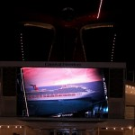 Carnival Freedom on the Big Screen (the Seaside Theatre)