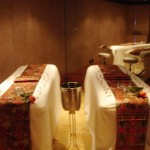 Photo of our couples massage room at the Spa