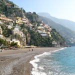 And one she took of Positano
