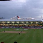 Carnival Destiny in Barbados for the Cricket World Cup final