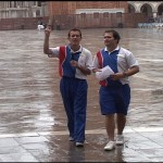 Gary and Lloyd in St. Marks Square