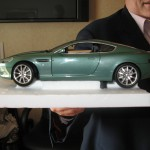 an Aston Martin Vanquish as given to me by Gregg and Linda