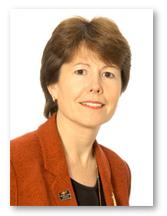 CAROL MARLOW, PRESIDENT OF CUNARD LINE