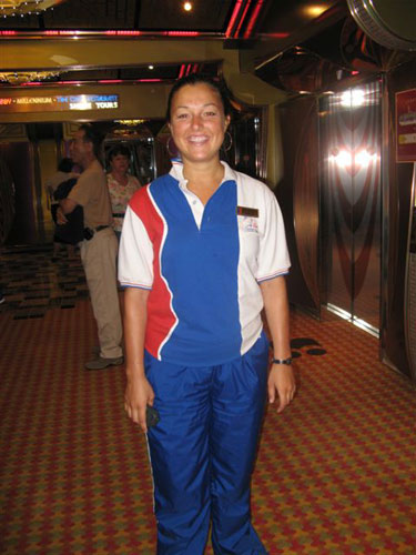 5. Stephanie - Assistant Cruise Director - Virginia