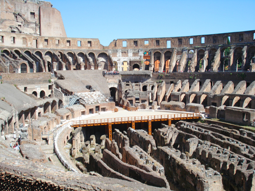 The Coloseum In Rome……………….you HAVE to see this for yourself.