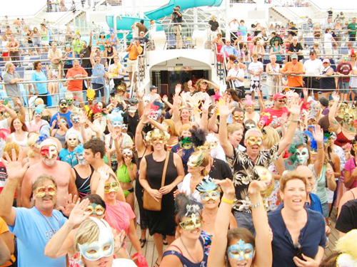 Photos from our Sail Away From Venice Mask Party