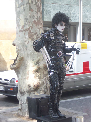 2. Edward Scissorhands