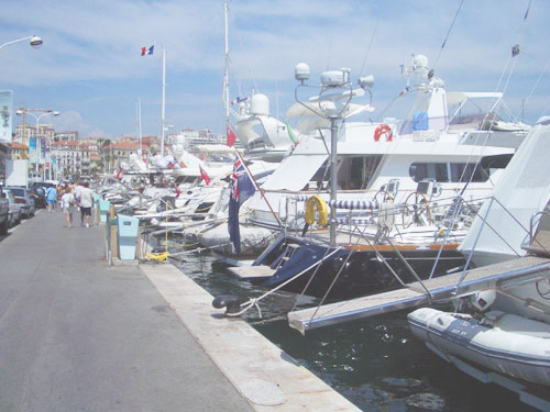 1. THE HARBOUR AT CANNES