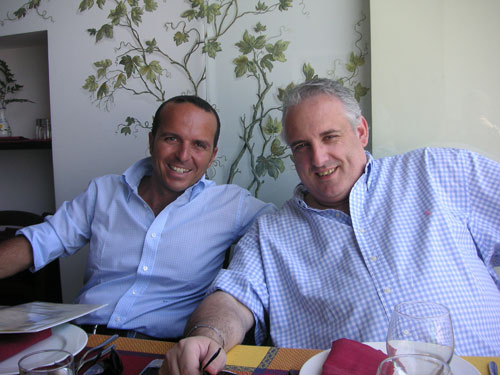 5. My great friend Adolfo Aloschi who owns the tour company we use in Naples