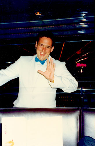 a young stud of a Cruise Director