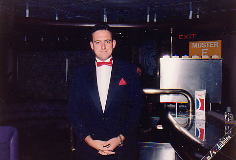 Me as an Asst. bar Manager on the Holiday - 1988