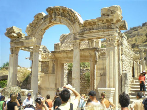 3. The Entrance to the Emperor's Baths.