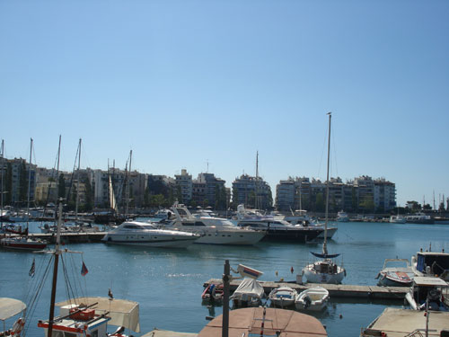 2. Piraeus harbour