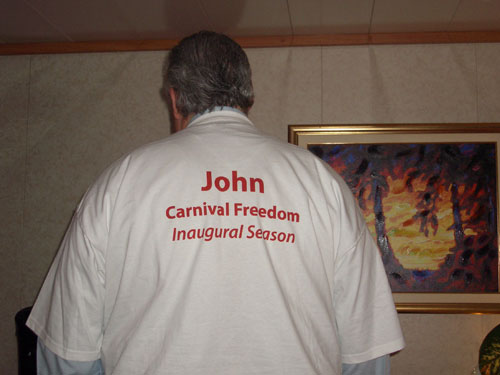 John and the shirt
