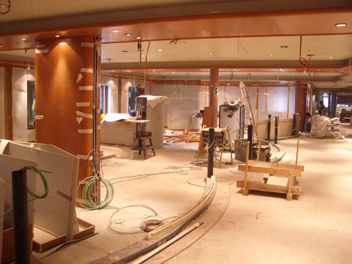 2. One of the Public rooms which will become the Champagne Bar