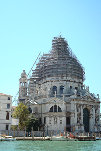 1. The Church of Health……the dome is being cleaned hence the scaffolding