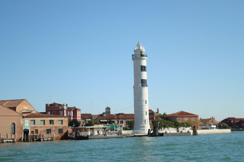 2. The lighthouse at the Island Of Murano