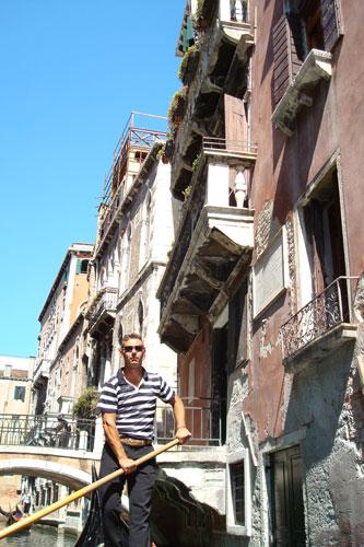 5. On a Gondola