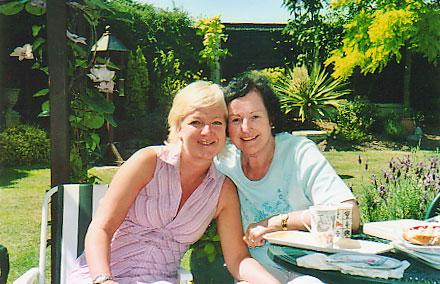 Heidi and Mum
