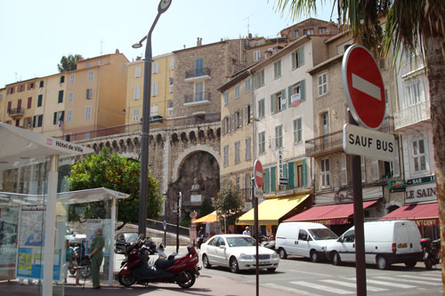 2. The streets of Cannes