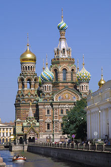 Church Of The Spilled Blood in St.Petersburg