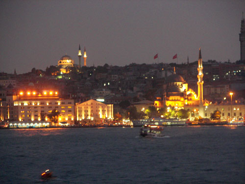 3. Istanbul by night