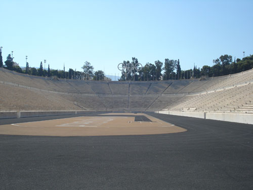 1. The old Olympic Stadium in Athens