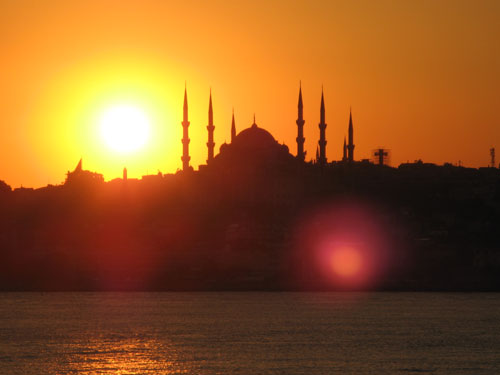3.A Turkish Sunset