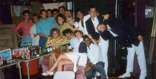 Here is a photo of me on the Celebration in 1989 with Steve Cassel - Cruise Director. I was just a Social Host then.