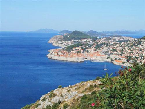 2. Dubrovnik's coastline