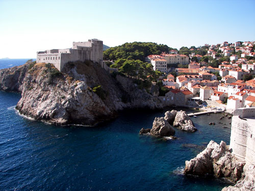 4. Forgot to slap this one on yesterday of Dubrovnik Old Town (this one taken by Entertainments Staff Member Gary)