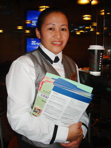 Introducing Stateroom Stewardess Merlyn Parola