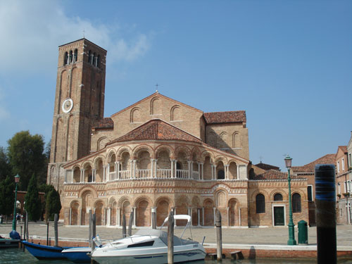 1.The Church at Burano