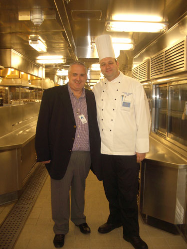 JOHN AND CHEF COZZOLI