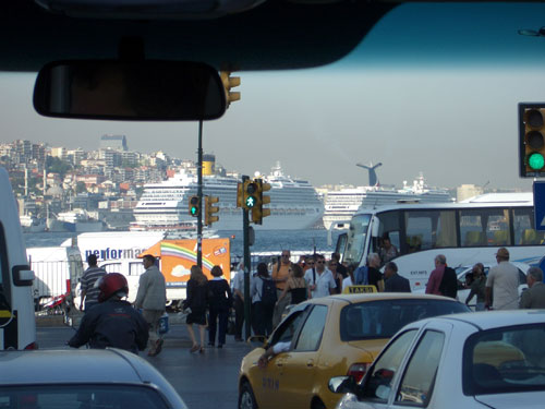 6. A busy day in Istanbul