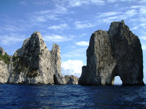 1. The island of Capri