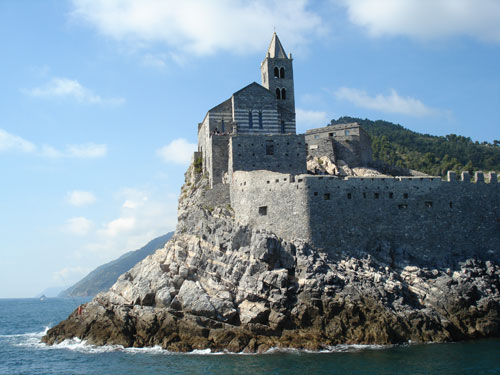 4. The Church at Portovenere - the 2nd oldest in Italy.