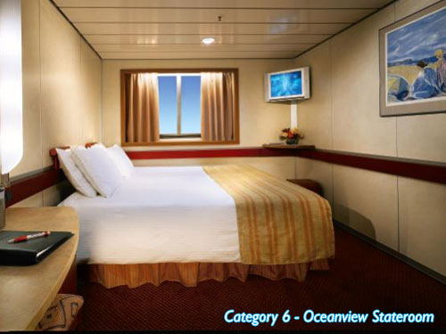 Category 6 - Oceanview Stateroom