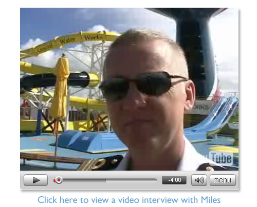 Click here to view a video interview ofMiles