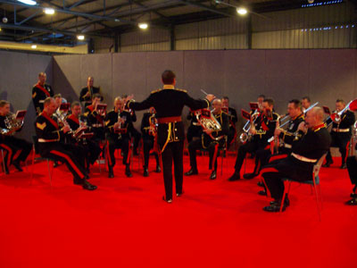 The band of HM RoyalMarines