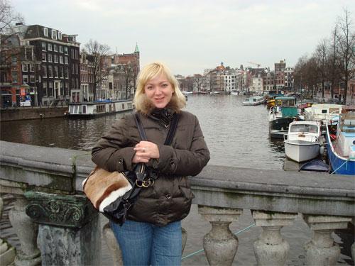 Heidi inAmsterdam