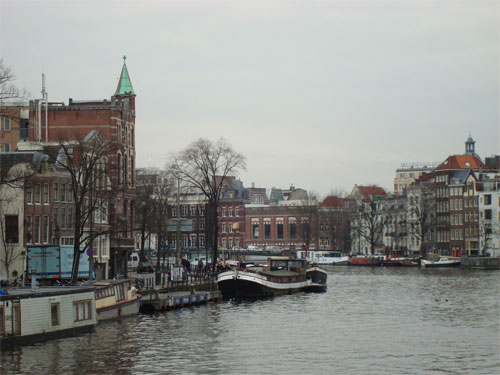 "The "" River Amstel "" in Amsterdam"