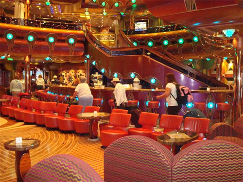 Debarkation on the Carnival Freedom