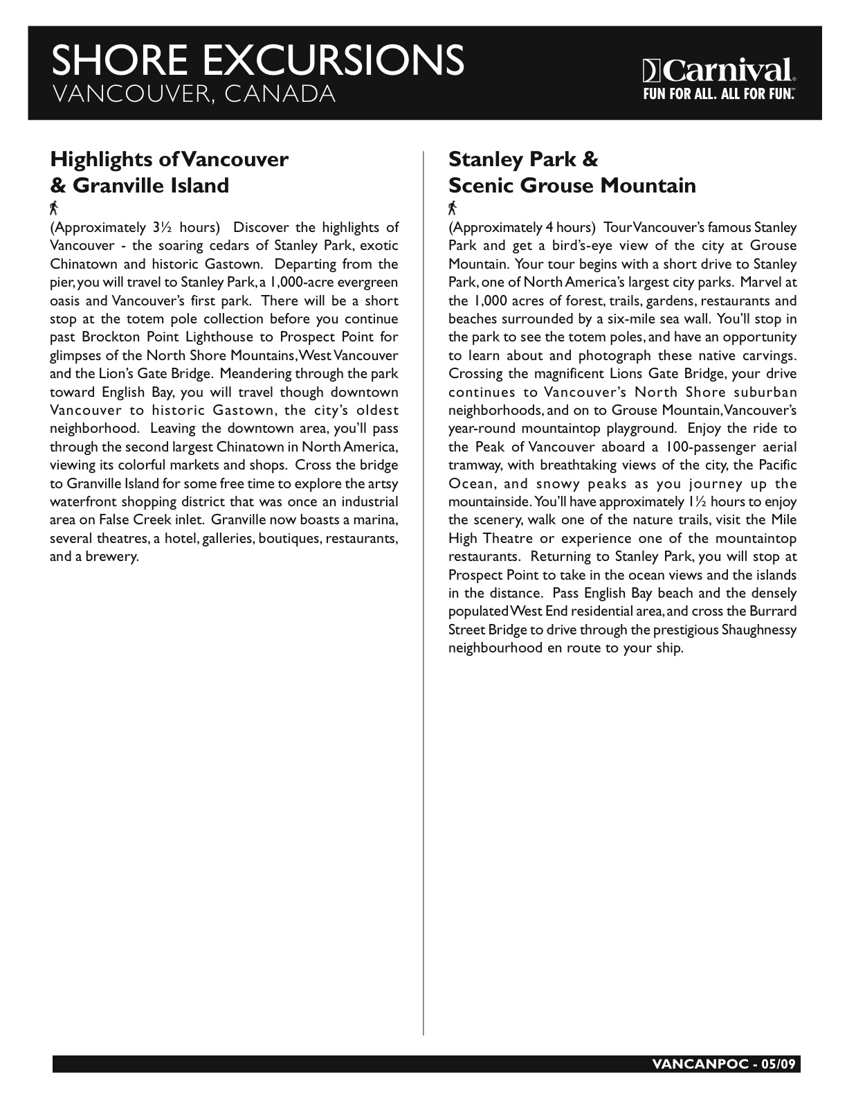 Vancouver - POC 050609