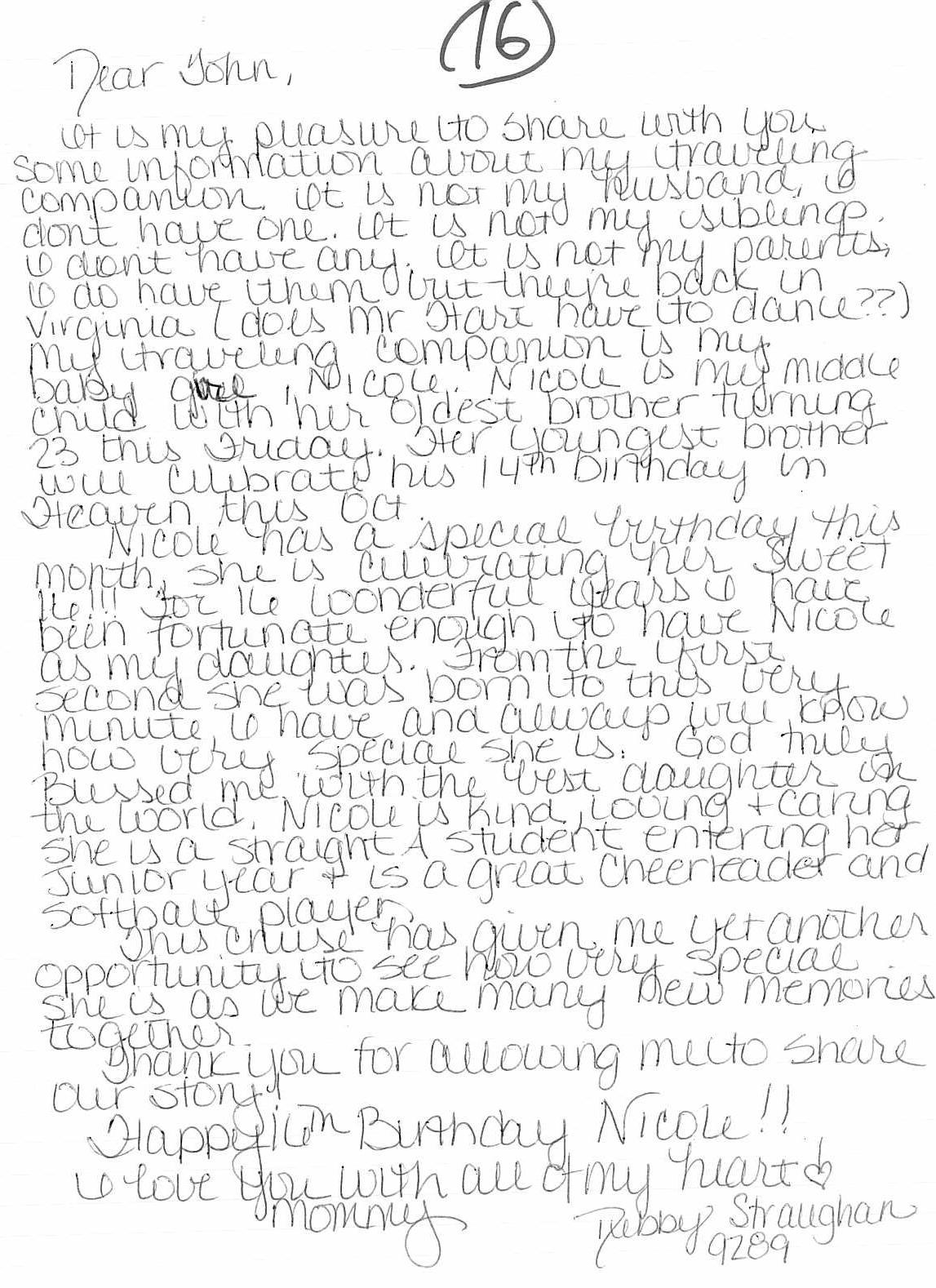 Dear John Letter 6